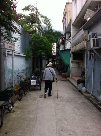 the back streets of Tai-O
