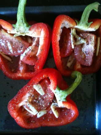 Getting Ready To Roast Peppers, UK