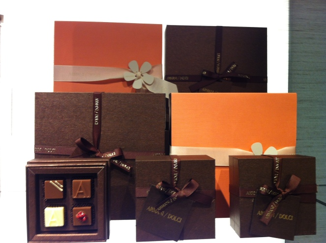 Beautiful Gift Wrapped Chocolates