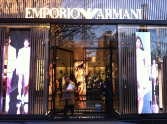 The Armani Boutique