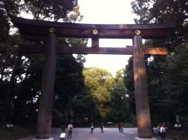 The main Torii or Gate
