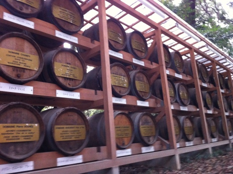 Wine Casks donated by the French