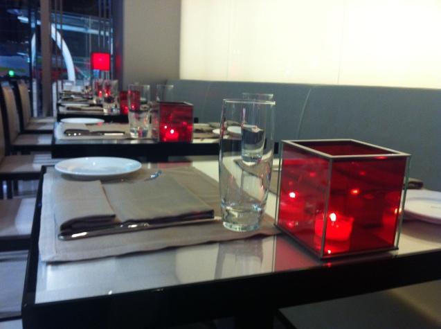 Armani Cafe Interior