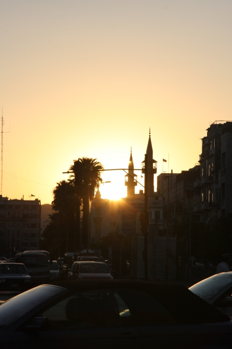 Sunset in Damascus