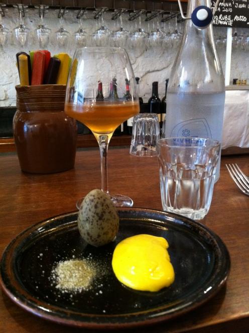 Gulls Egg & Aioli, Soho