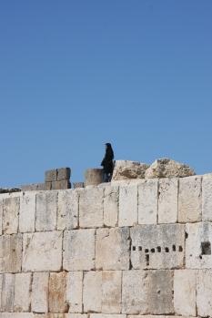 A moment of solitude, Baalbeck, Lebanon