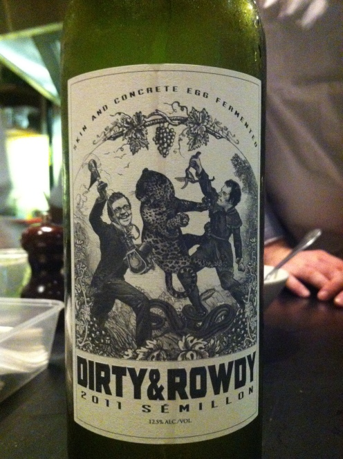 Stunning Wine - A Californian Semillon from Napa