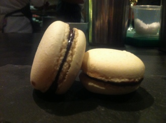 Macaroons to finish with