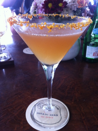 The Big Bang - Spiced rum, passion fruit syrup, lime, mango and guava