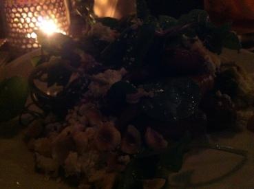 Carrot, Feta and Hazelnut Salad