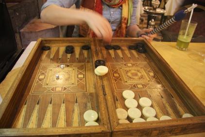 Board games, Damascus, Syria