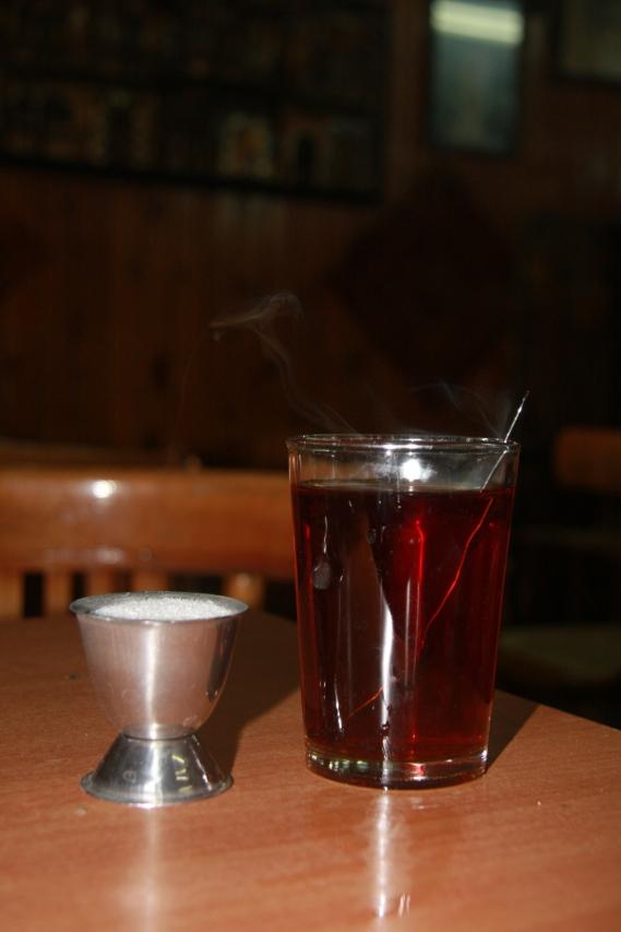 Sweet Tea, Damascus, Syria