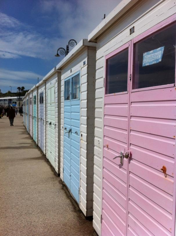 Seafront Beach Huts, Lyme Regis