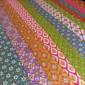 Beautiful Thai fabrics