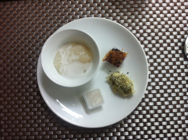 Traditional Sweets & Longon Pudding with Salted Coconut Milk