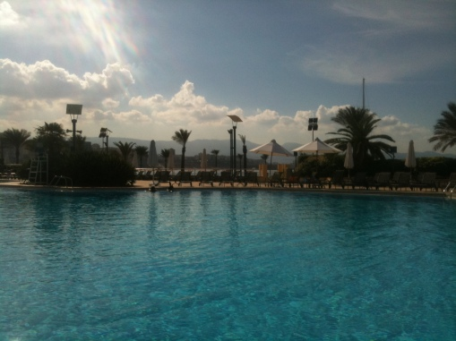 Movenpick swimming pool, Beirut