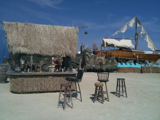 Ship Wrecked Bar at Burning Man