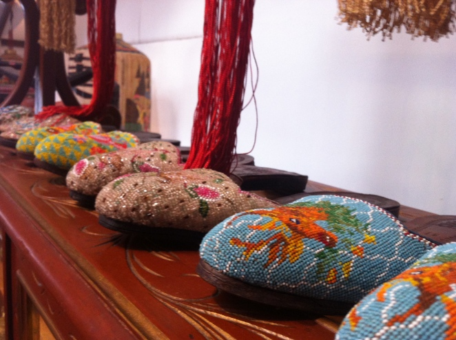 Peranaken Beaded Shoes, Joo Chiat