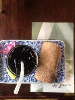 Pre massage herbal drink