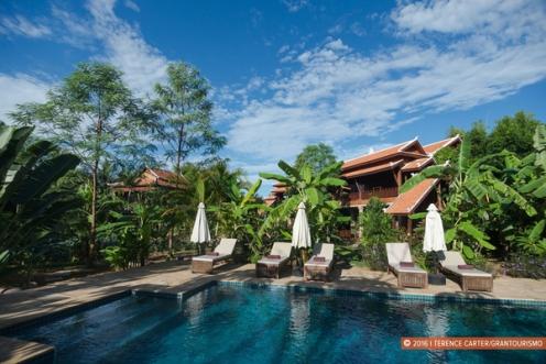 Maisons Wat Kor, Battambang.