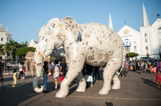 Copy of Newspaper elephant